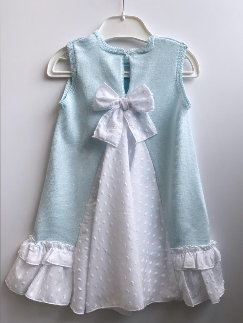 Granlei Mint Bow Dress