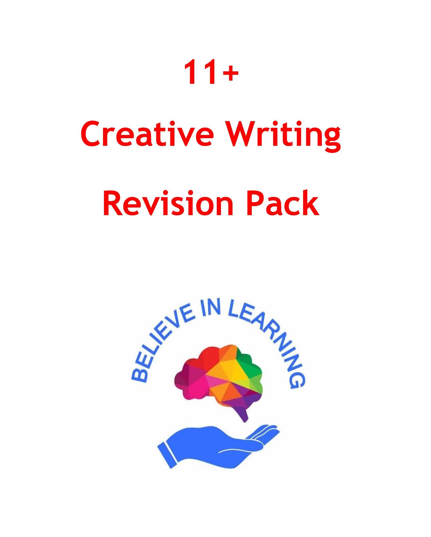 11+ Creative Writing Revision Pack