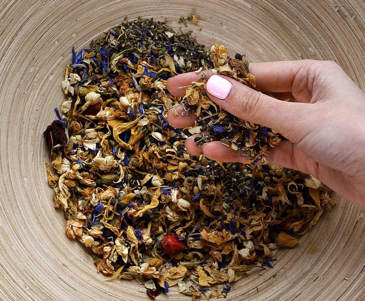 Witches Dried Herbs  W - Z