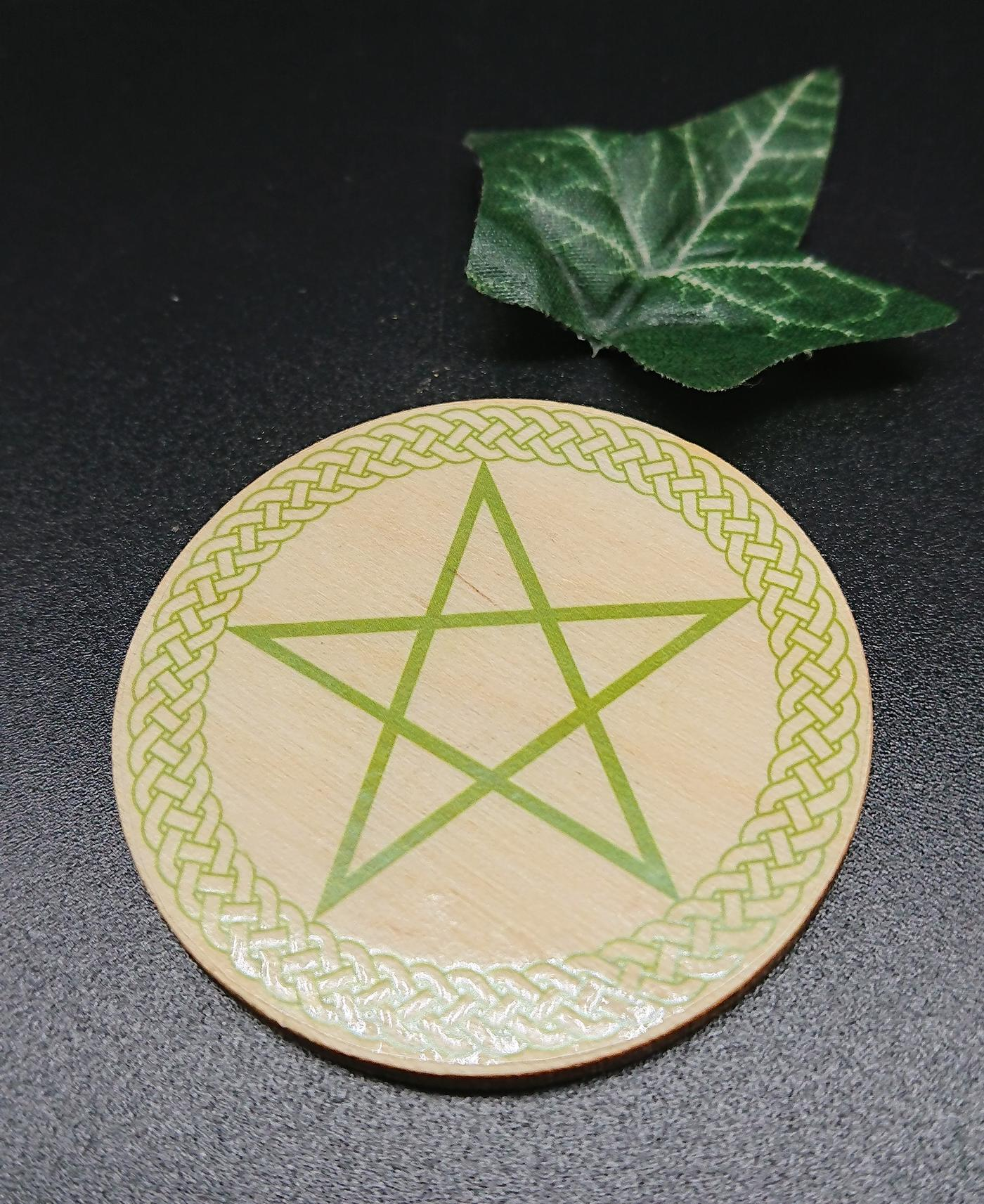 Celtic Pentagram Altar Tile