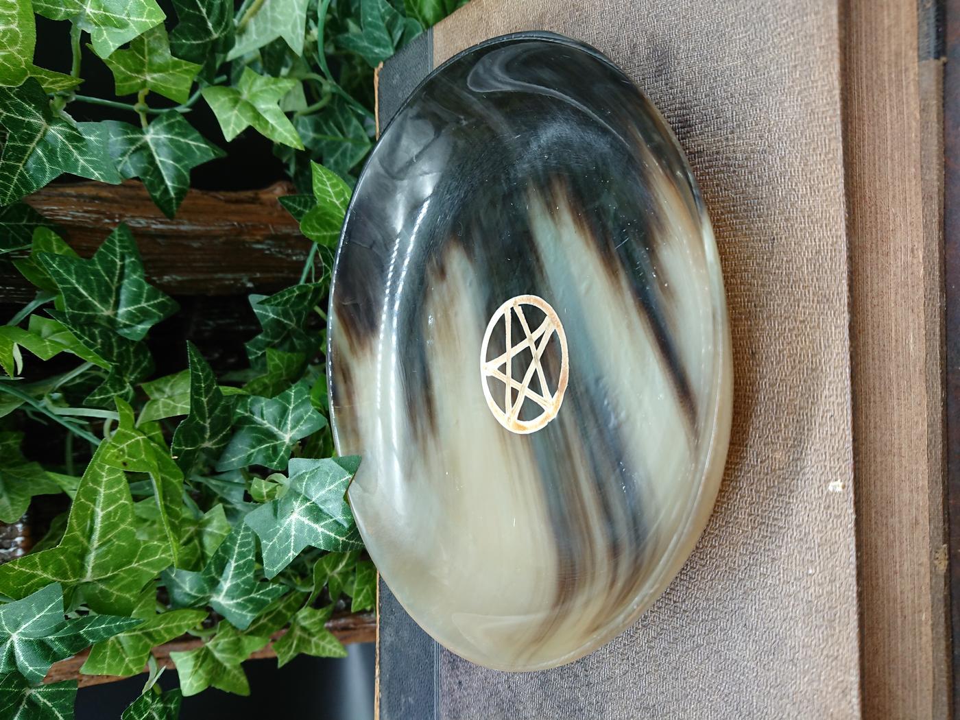 Pentagram Ritual Altar Bowl