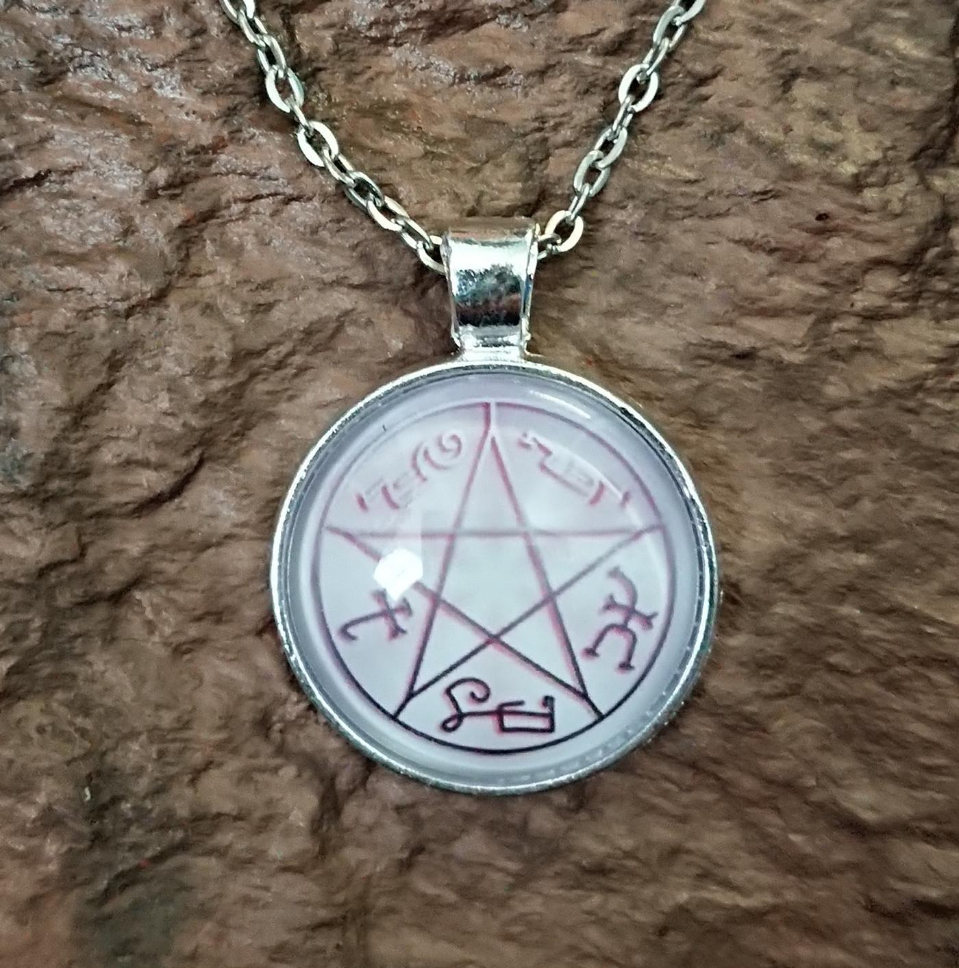 Devil's Trap pendant necklace