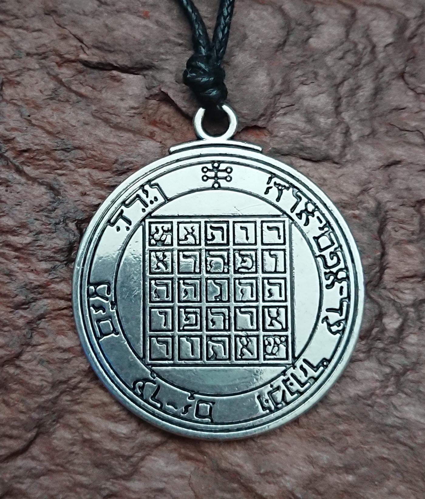 Seal of Saturn Talisman pendant