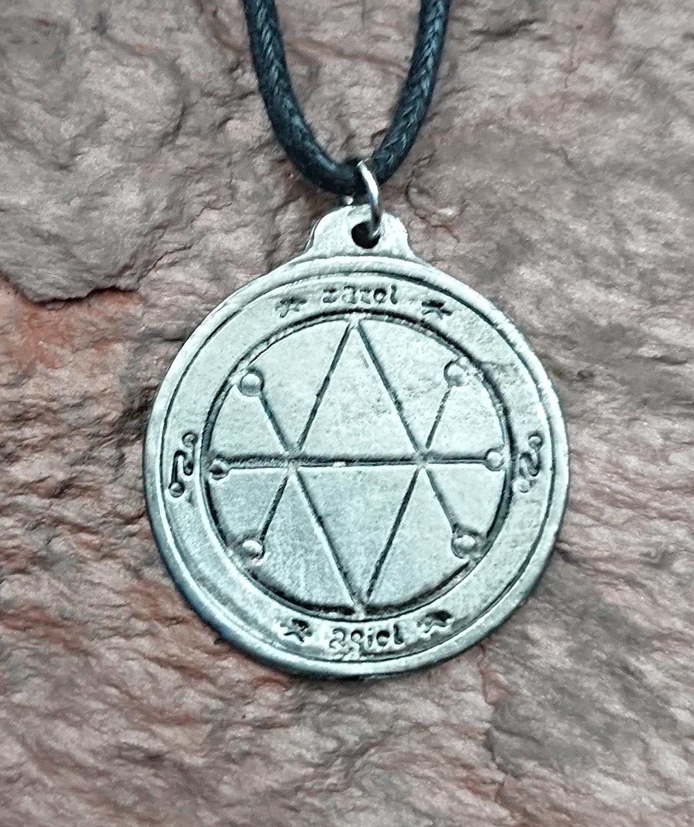 Saturn Seal of Protection Amulet