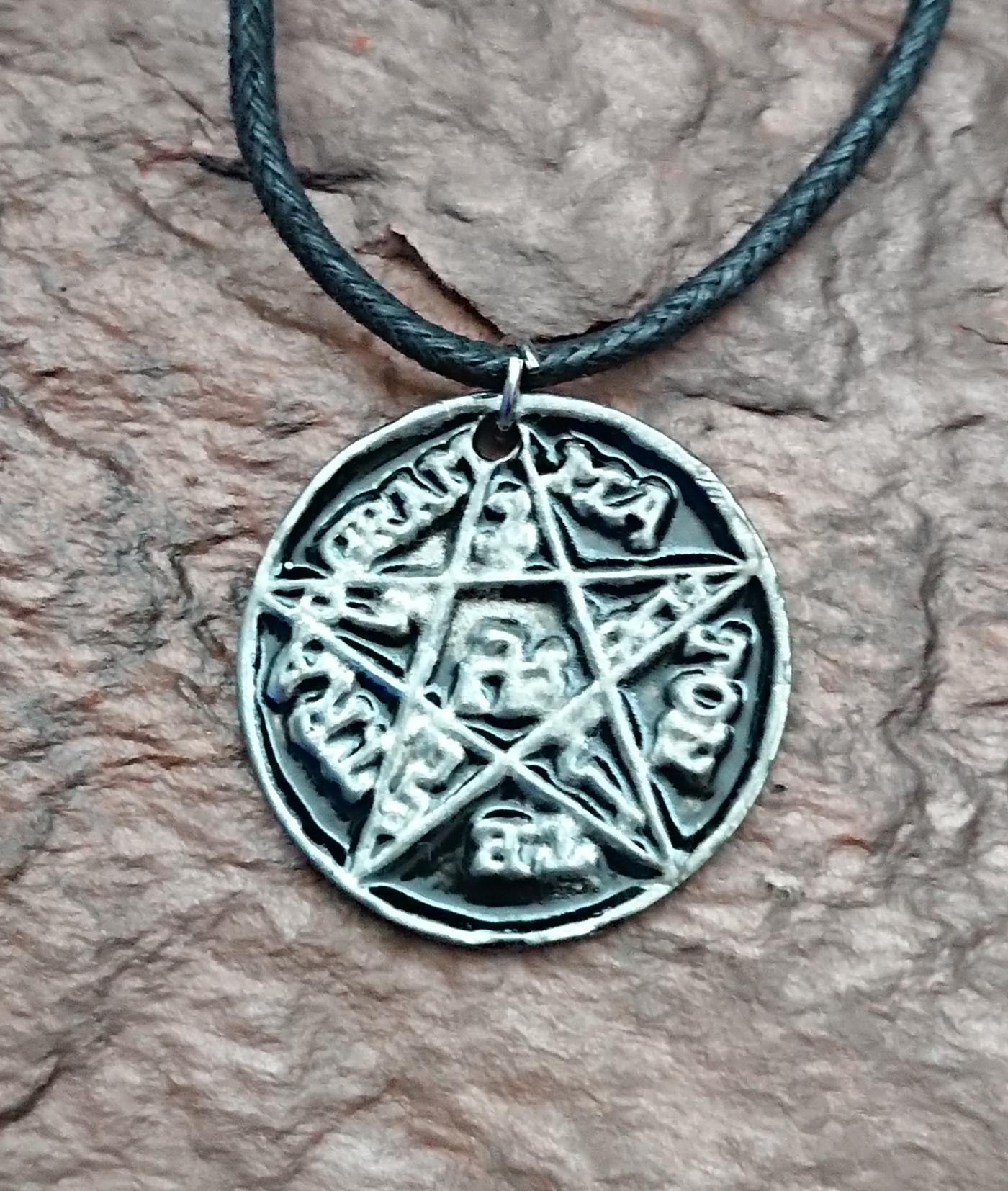 Pentagram of Solomon Amulet