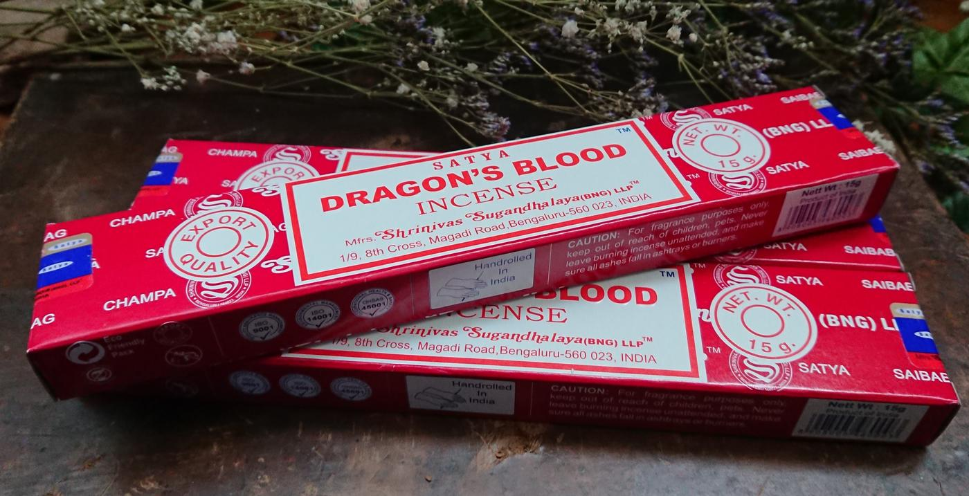 Satya Dragon's Blood Incense