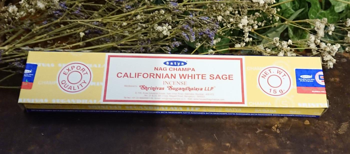 Satya Californian White Sage