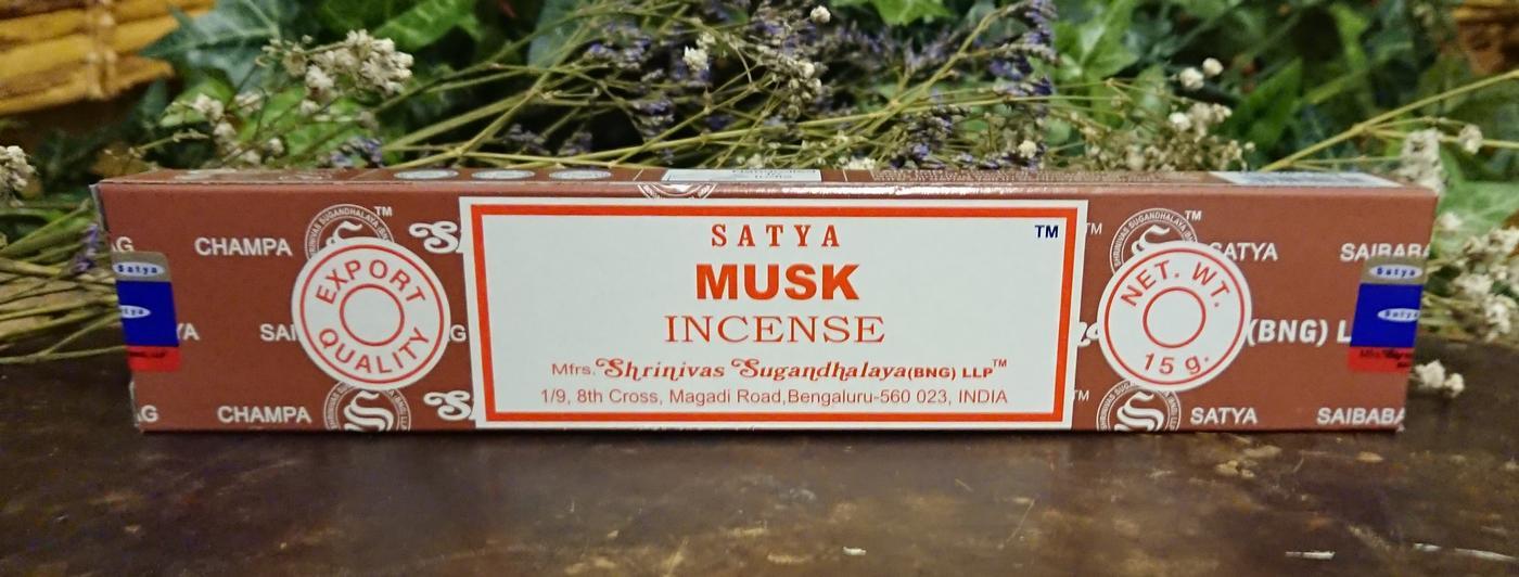 Satya Musk Incense