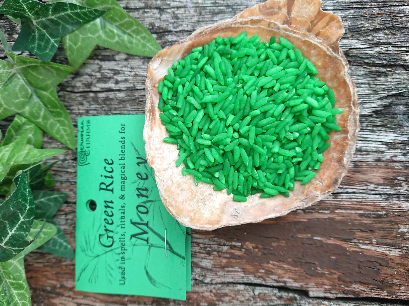 Money Green Rice