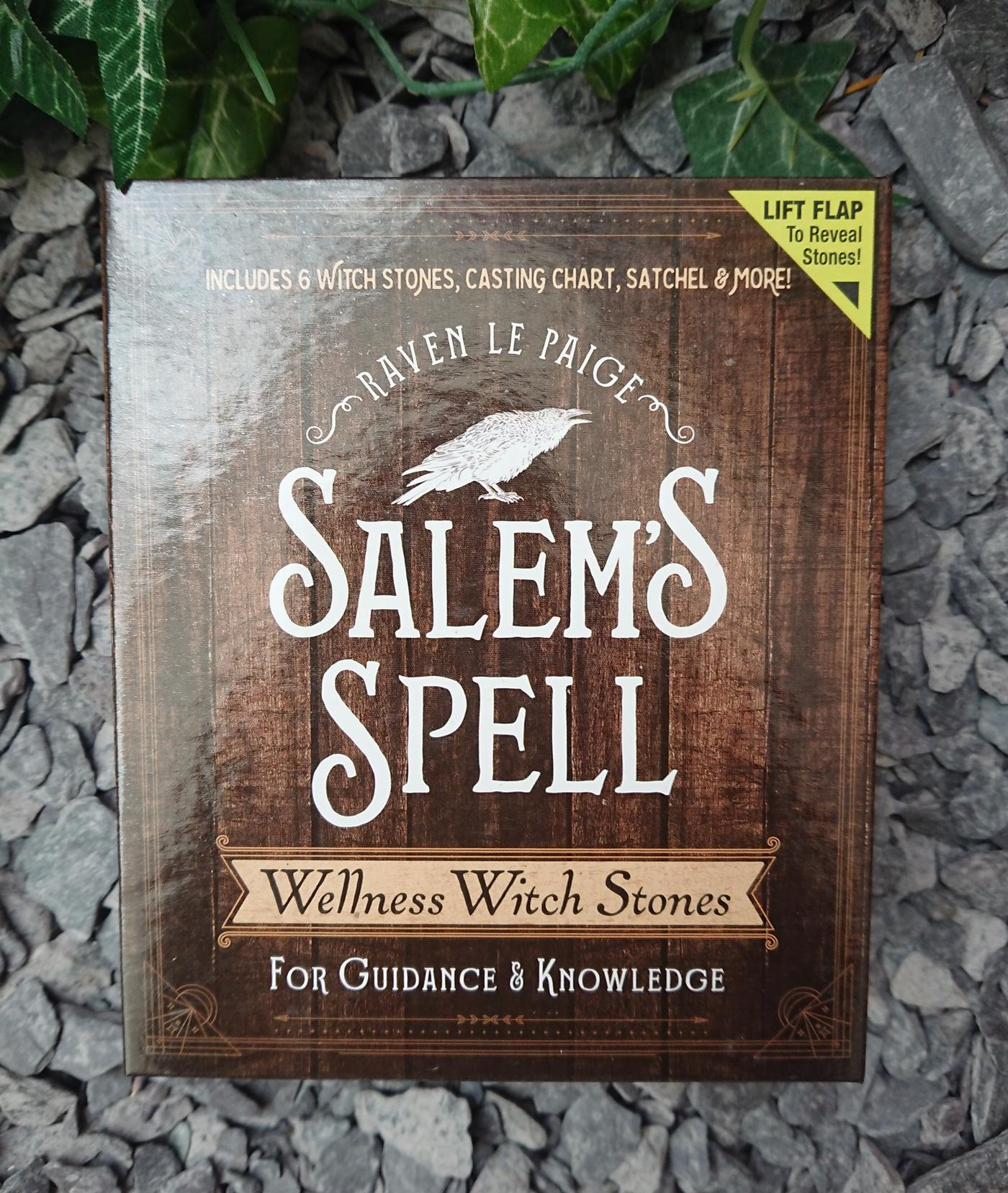 Salem's Spell witches wellness stones