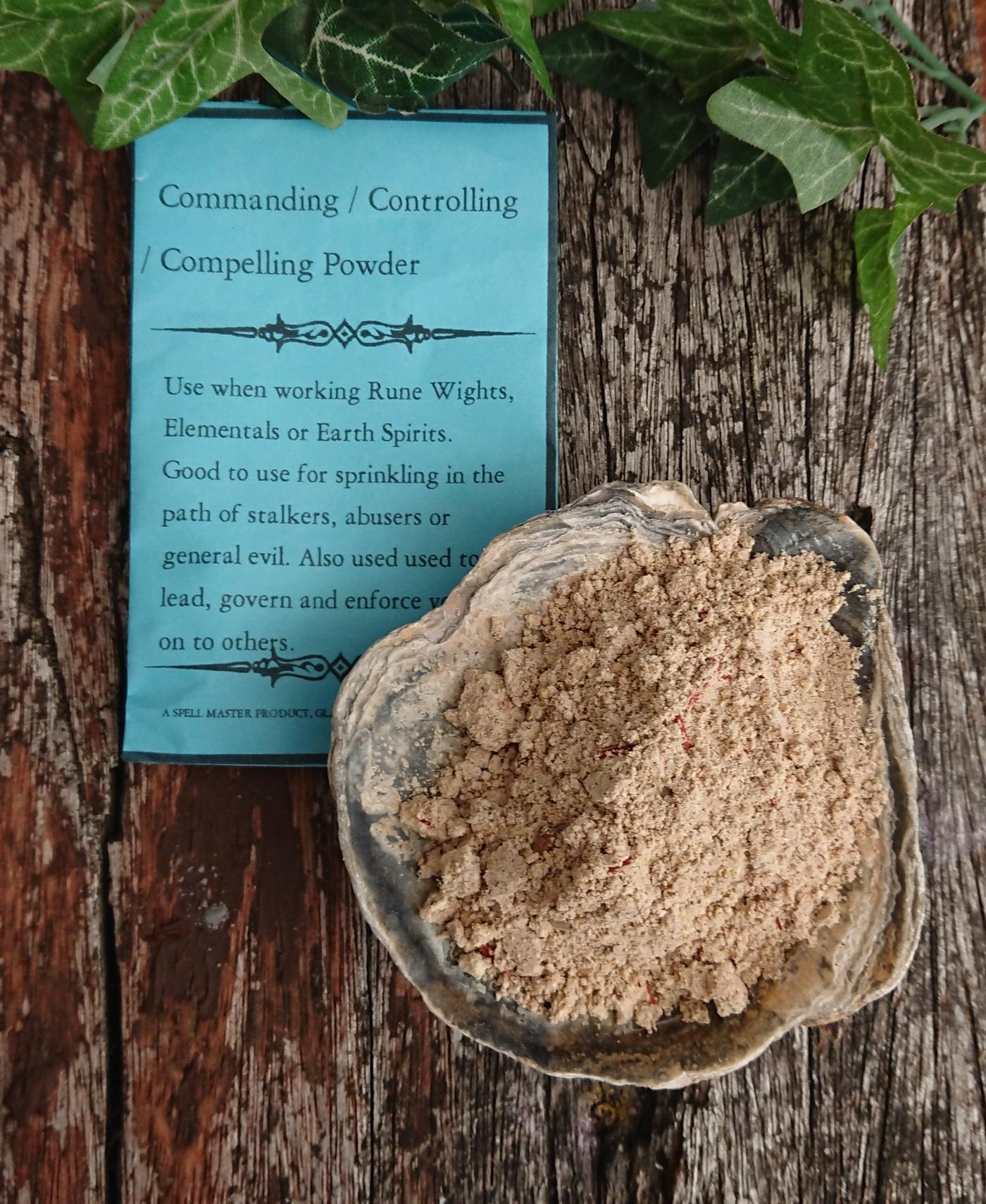 Commanding - Controlling powder