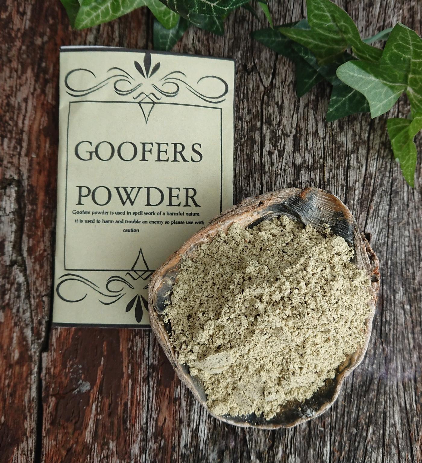 Goofers Dust powder
