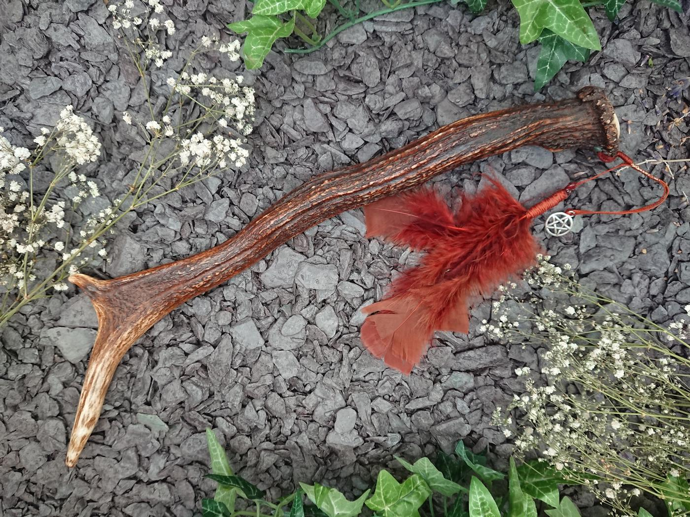 Witches Antler Wand