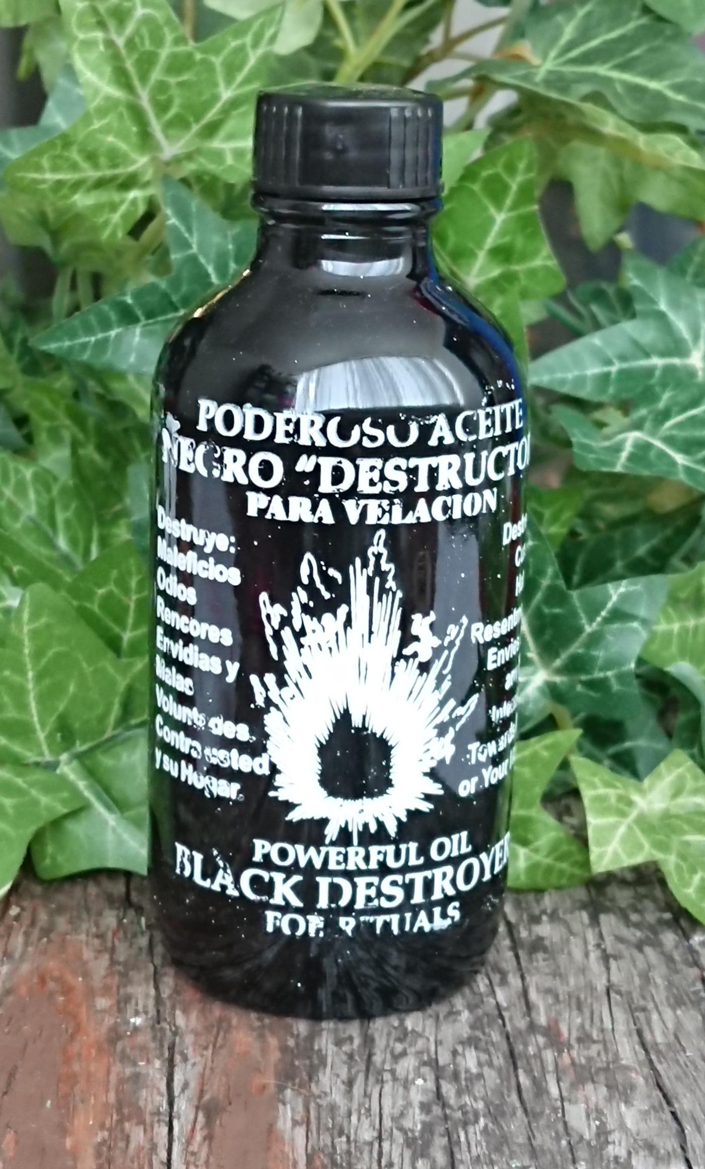 Negro Destructor -Black Destroyer-Oil