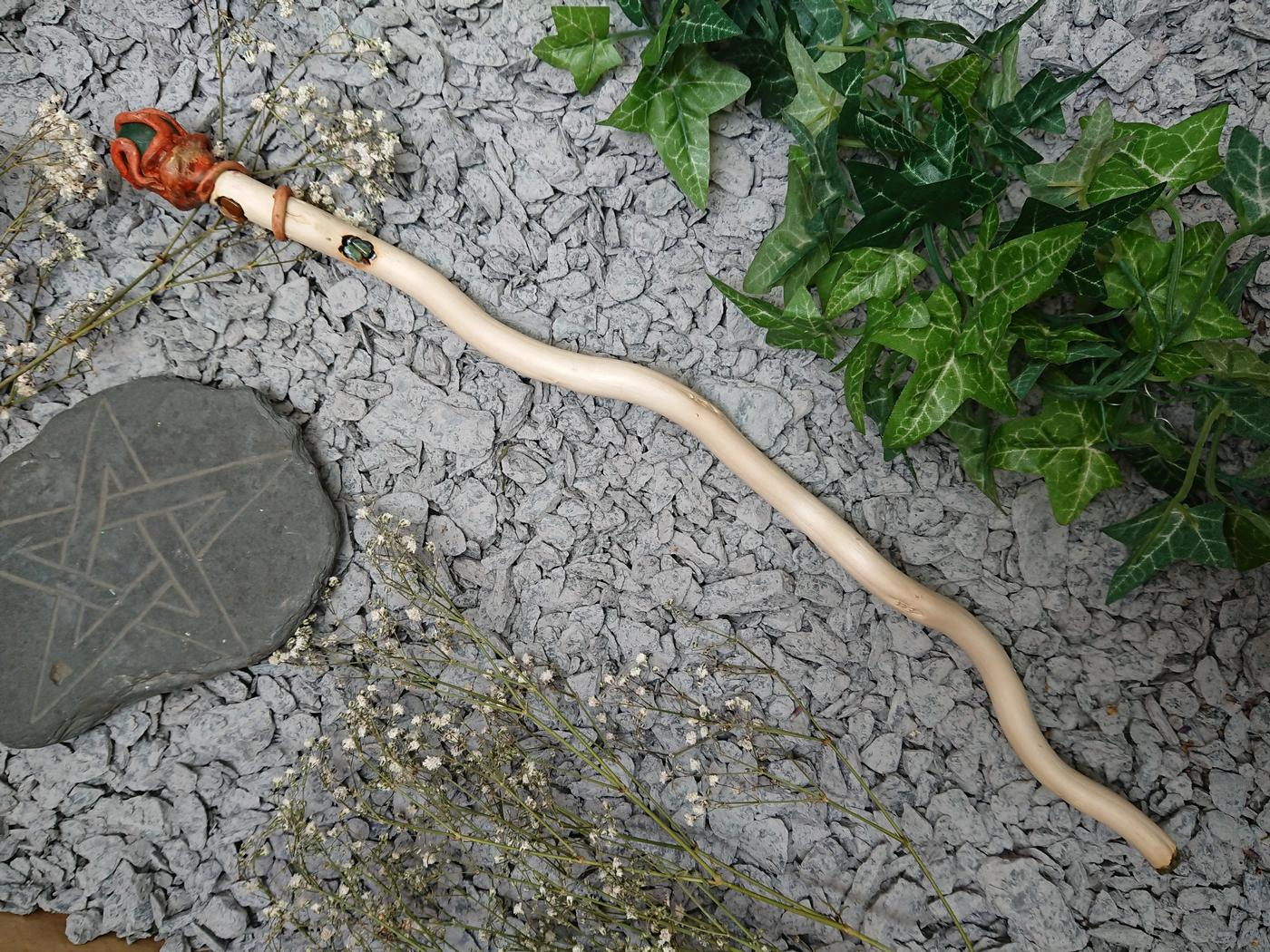 Twisted Willow ball Wand