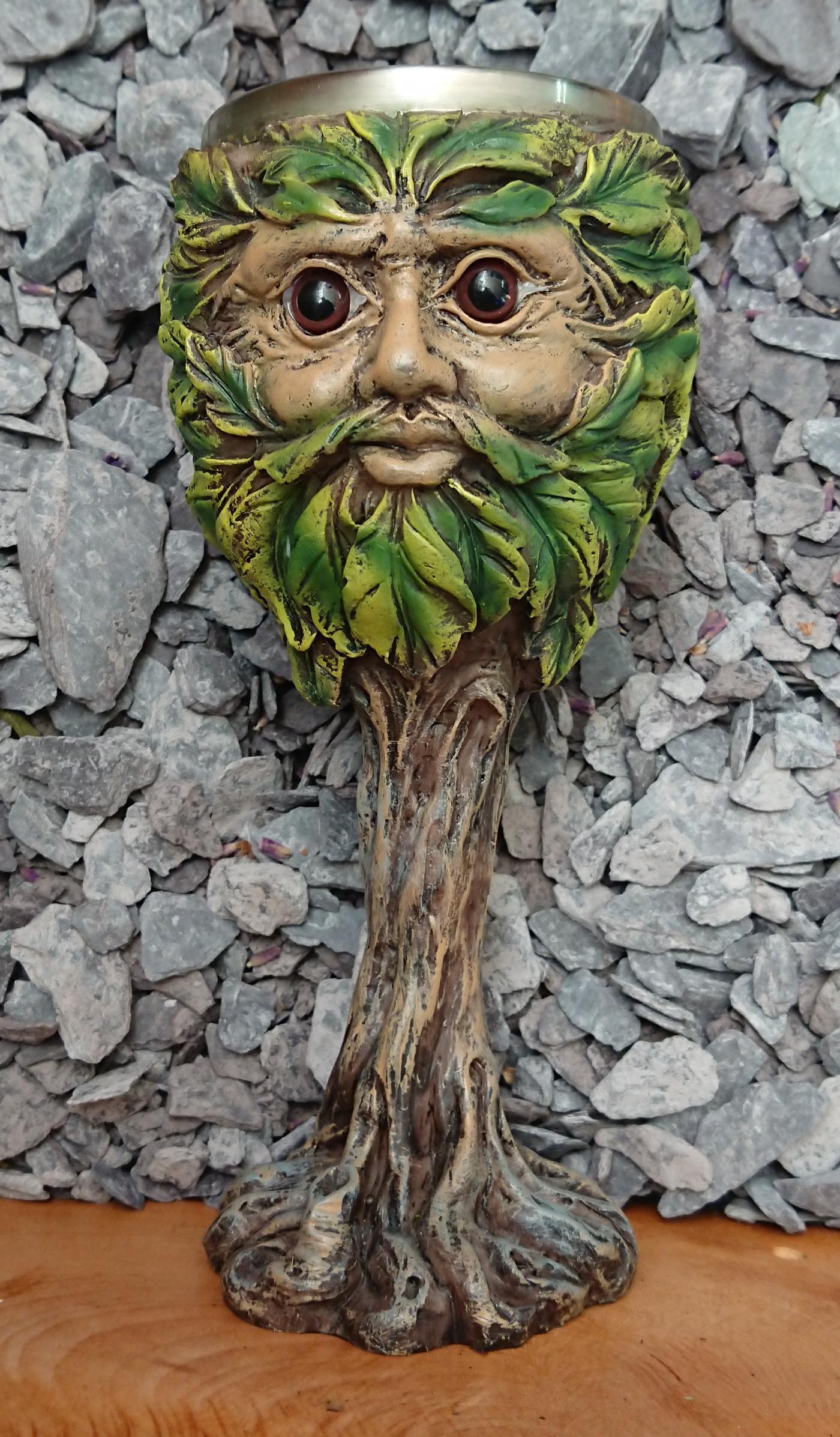 Green Man Chalice