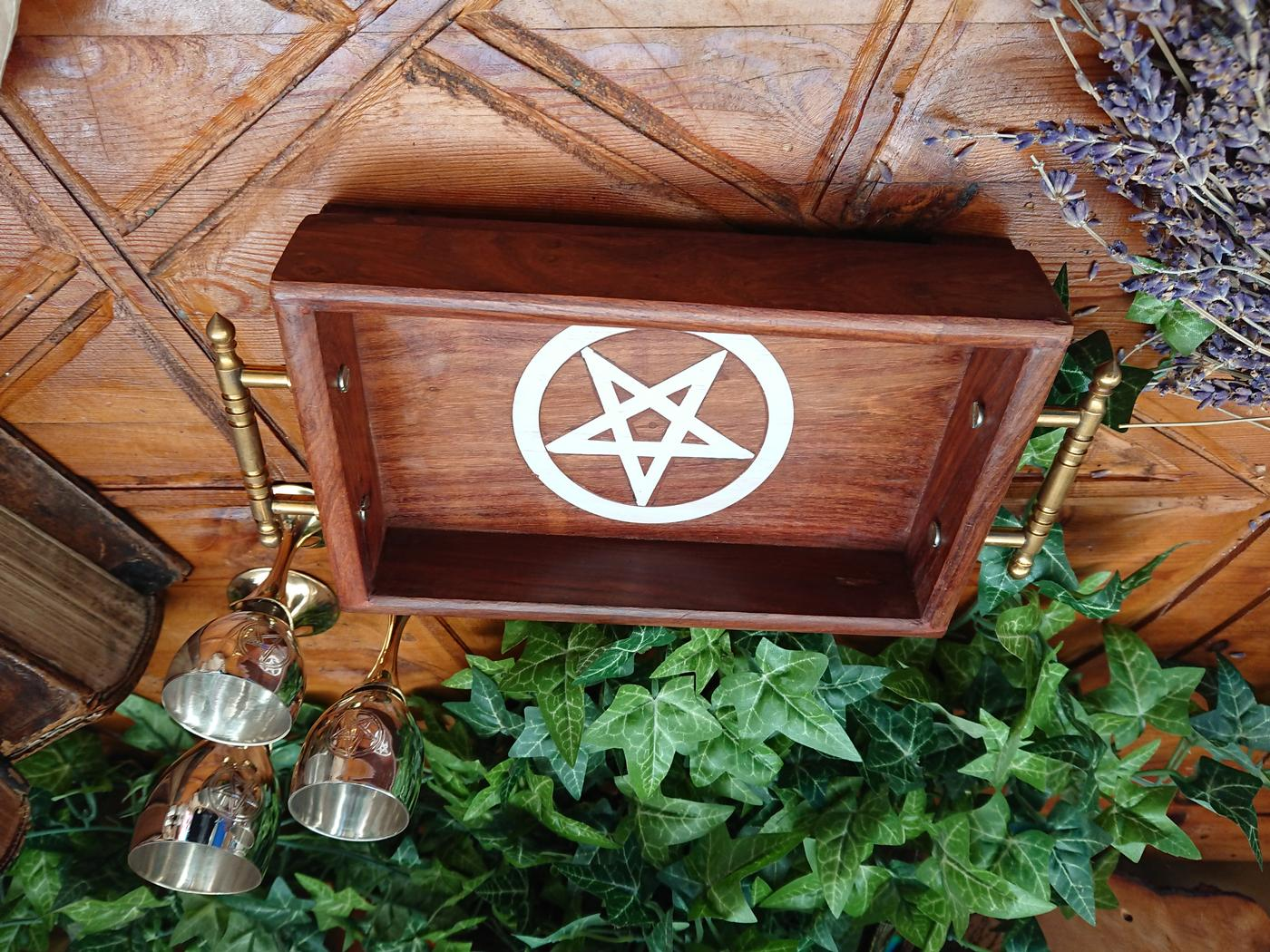 Pentagram Altar Tray