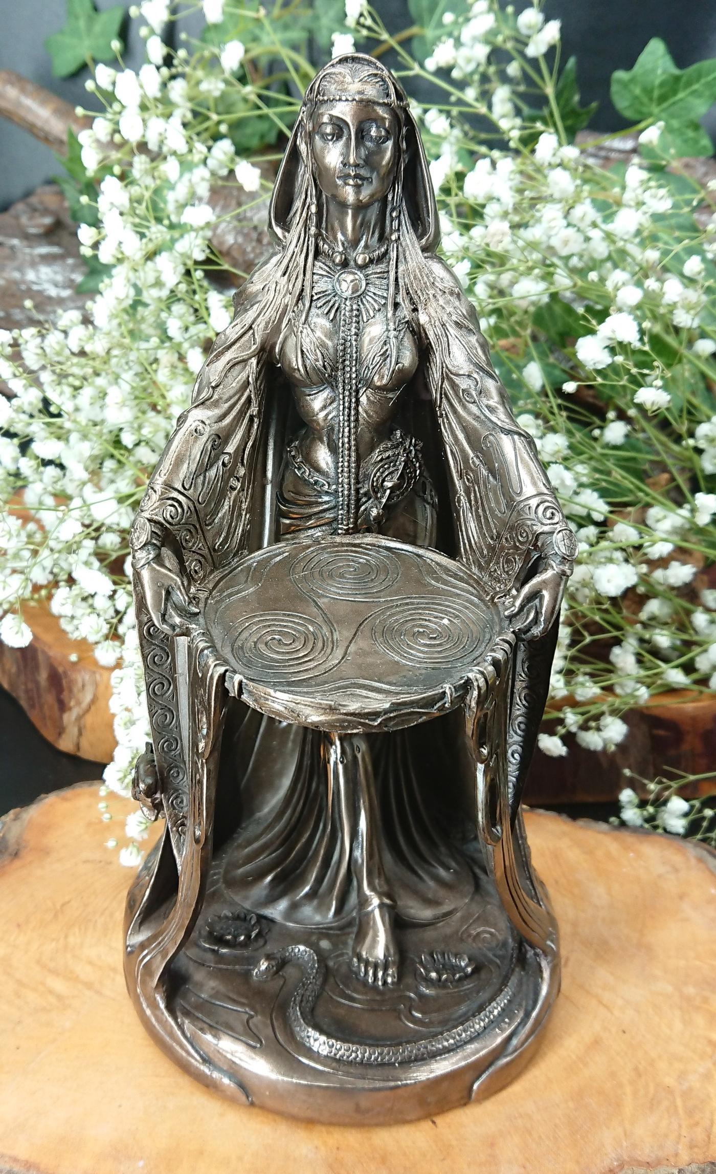 Celtic Danu Goddess Figurine