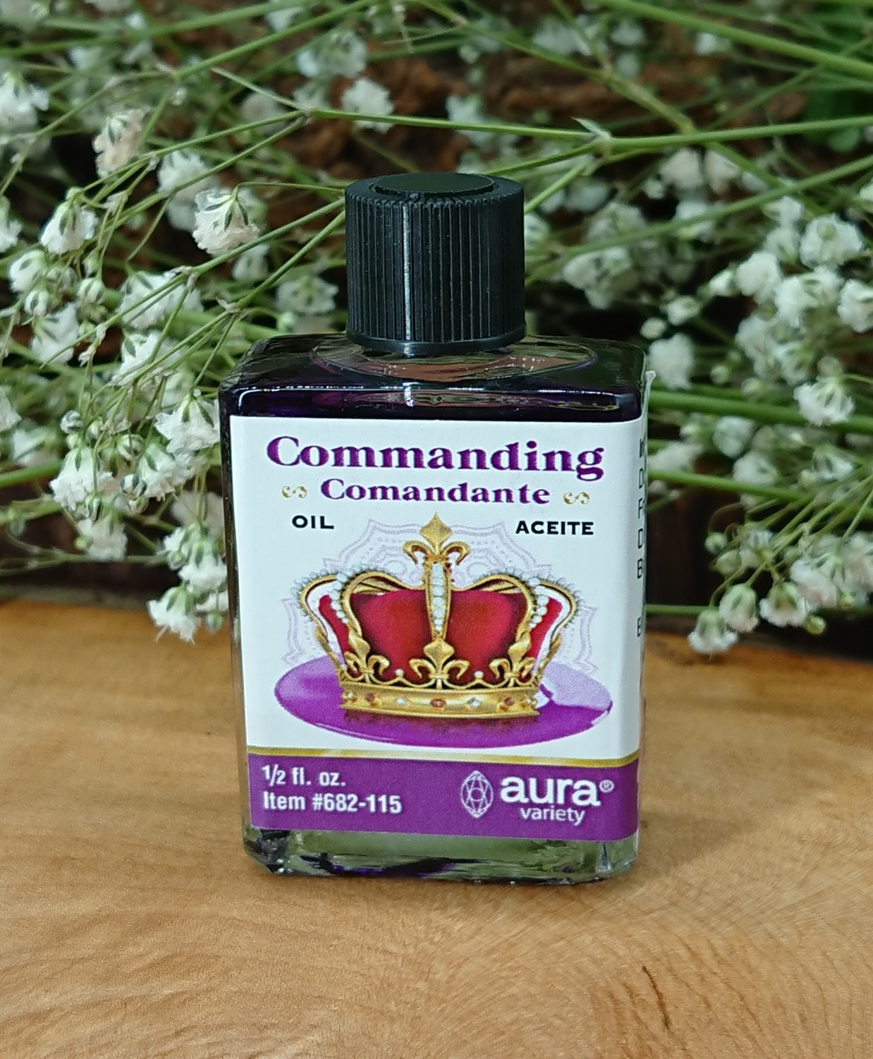 Commanding Anointing Oil