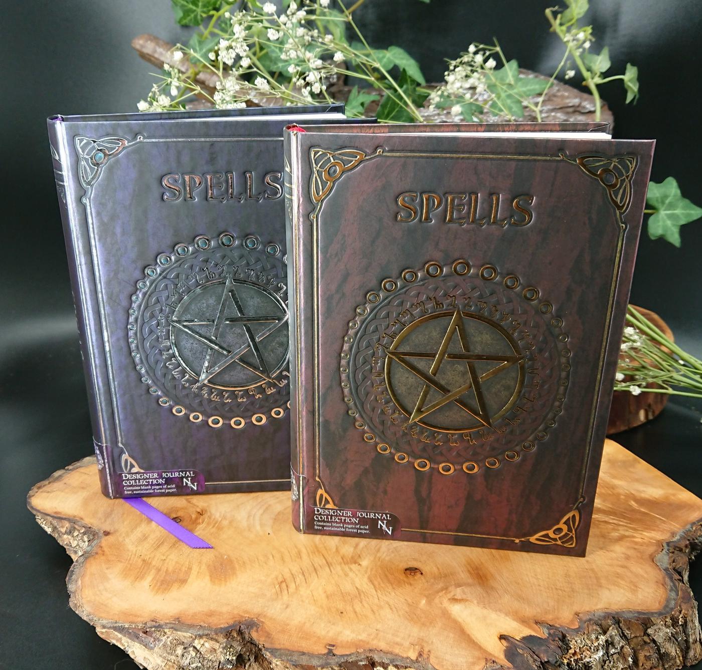 Nemesis Now Embossed Spell book