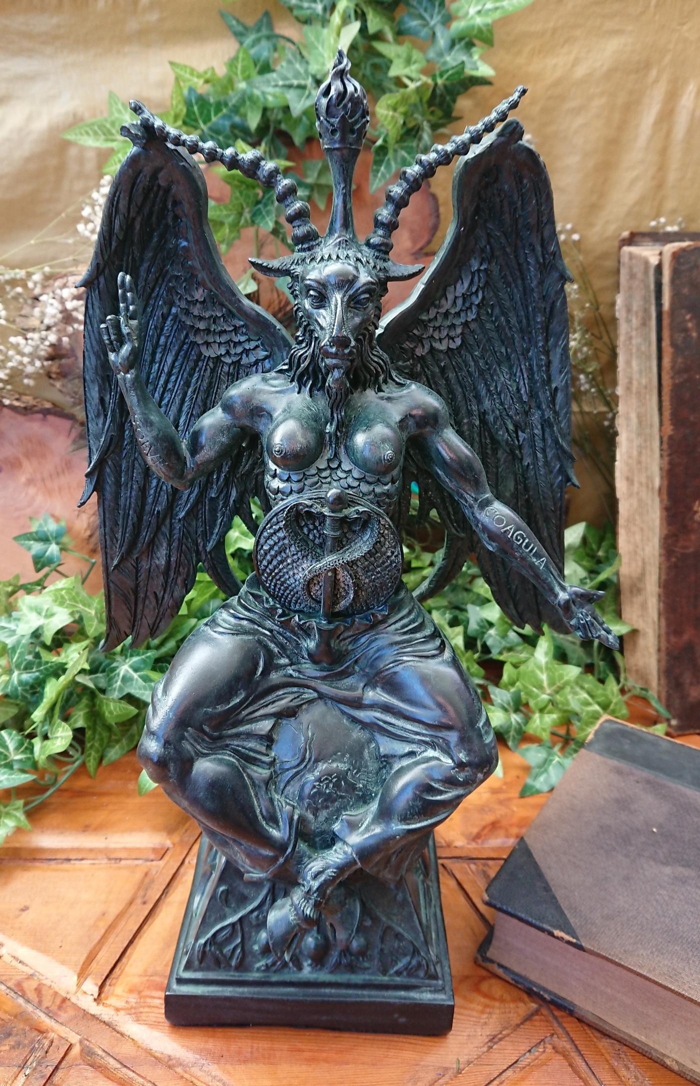 Large Baphomet Figurine