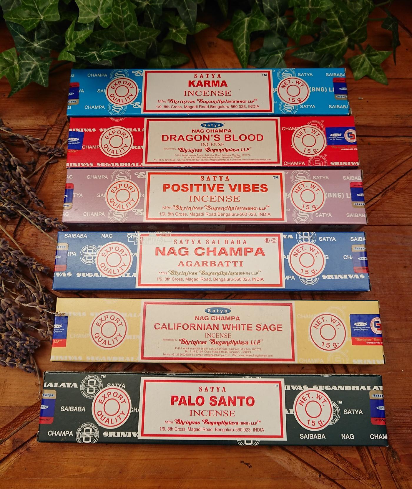Satya Variety Incense Pack
