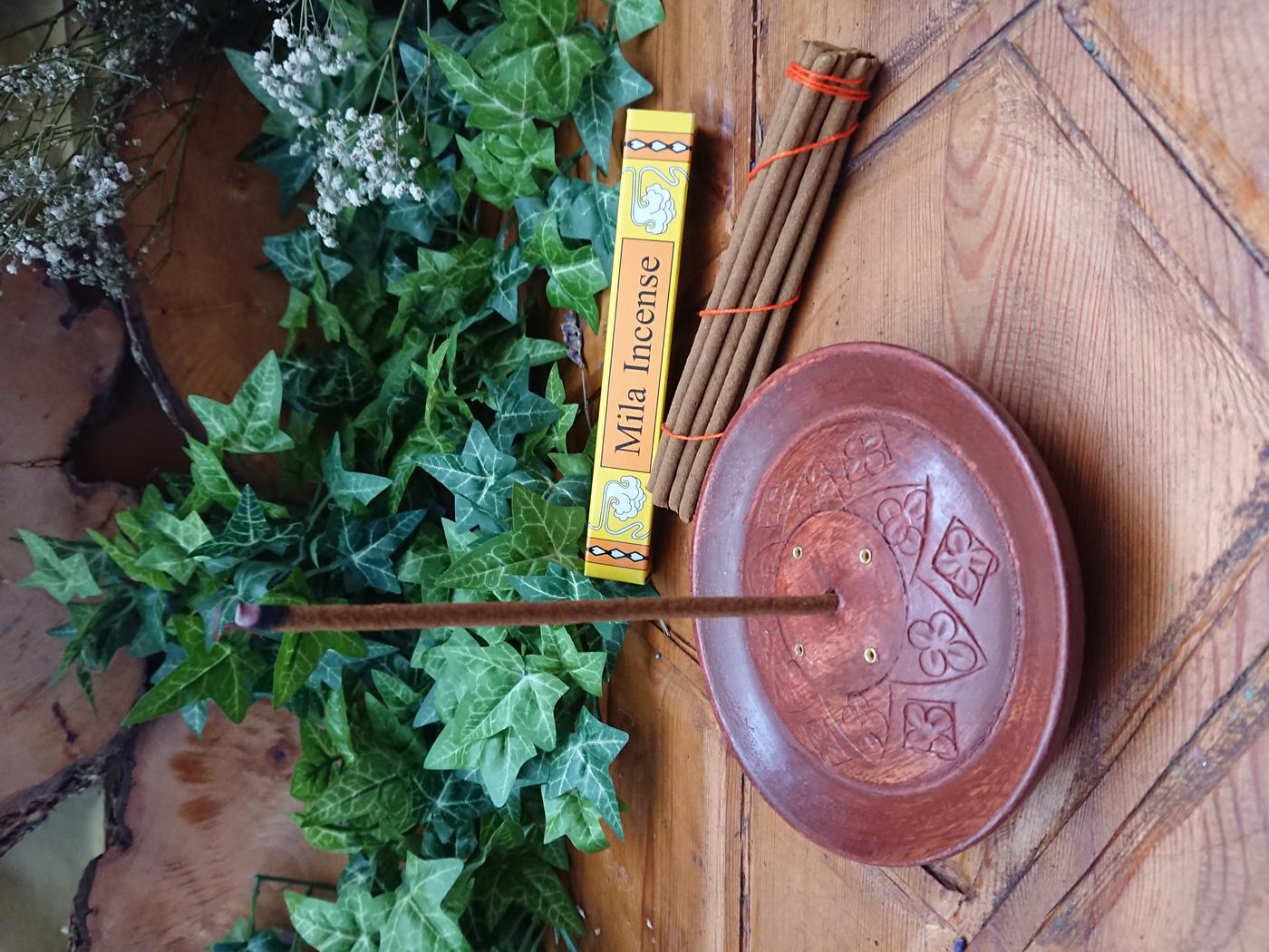 Tibetan Incense Holder