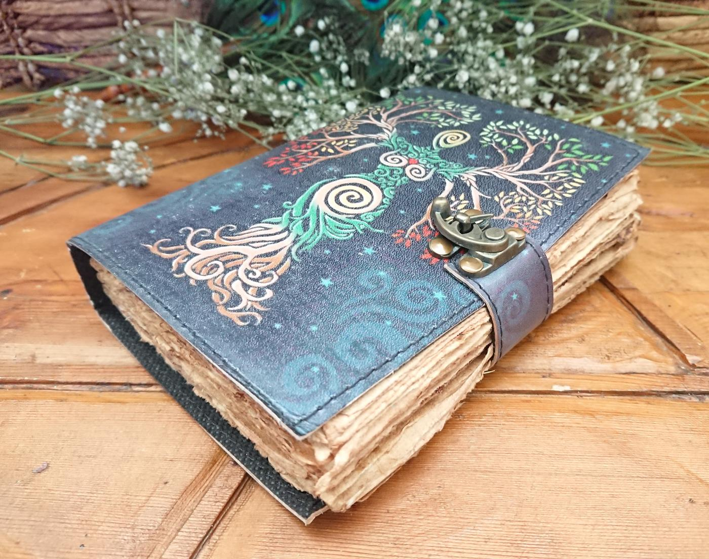 Goddess aged looking paper Journal