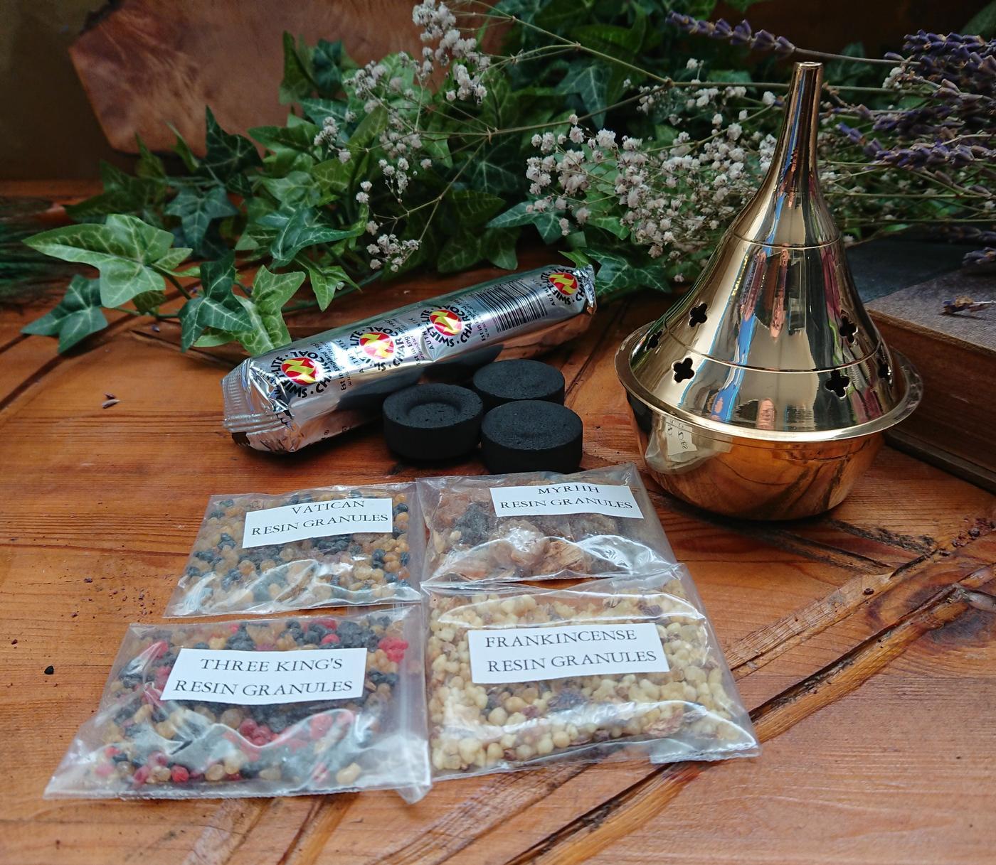 Incense Resin Burner Kit