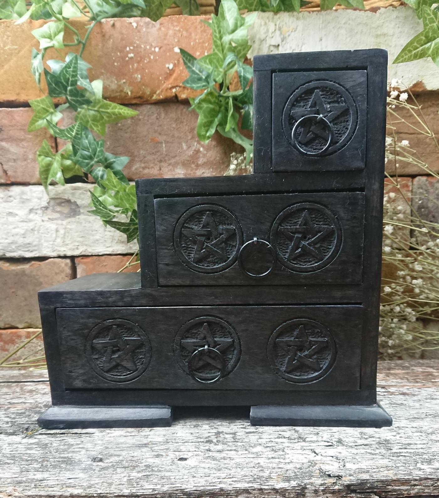Pentagram 3 Step Box