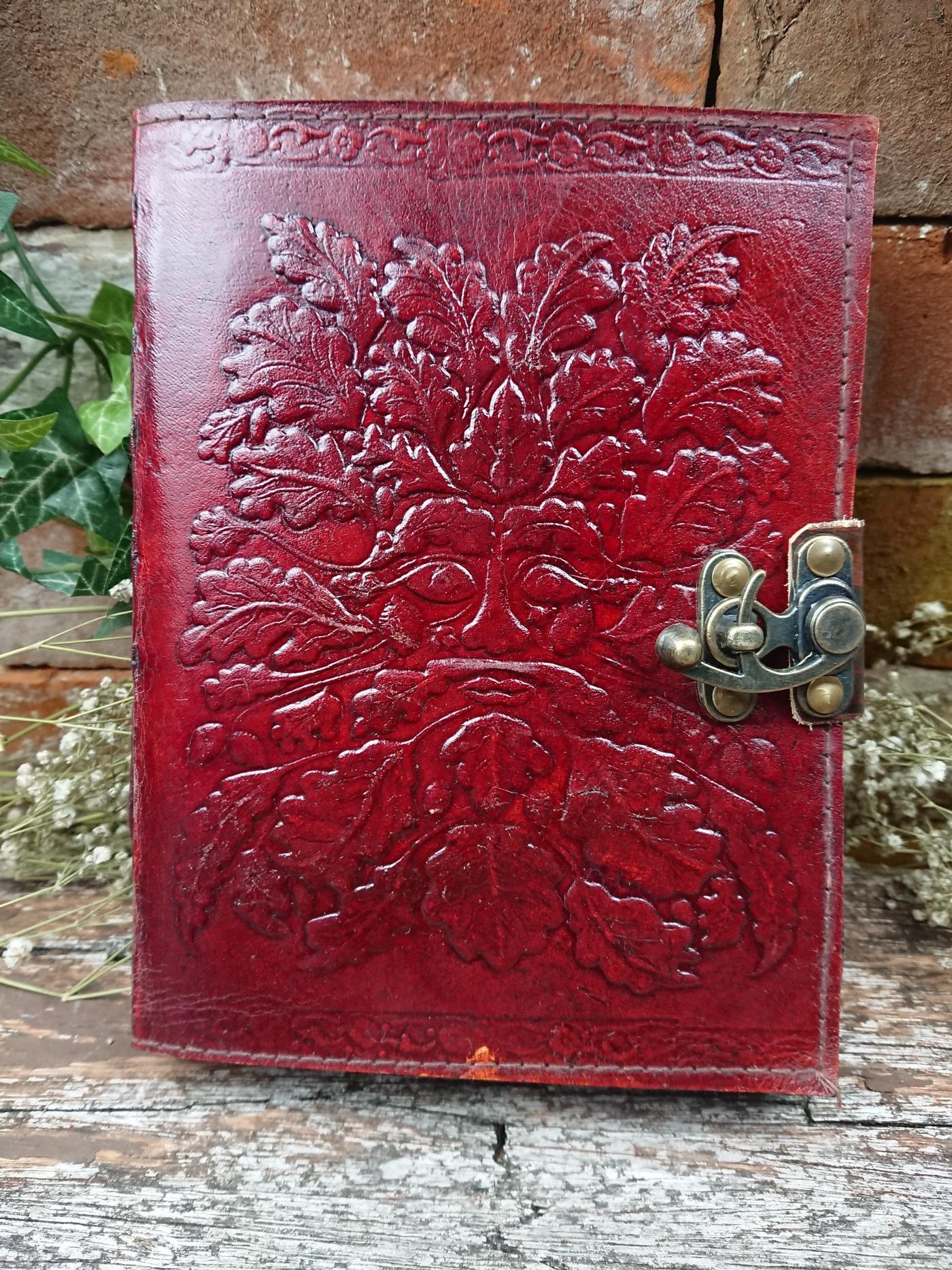 Green man Journal Book of Shadows