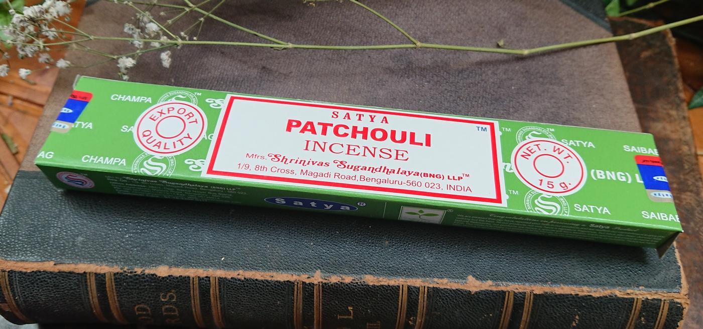 Satya Patchouli Incense