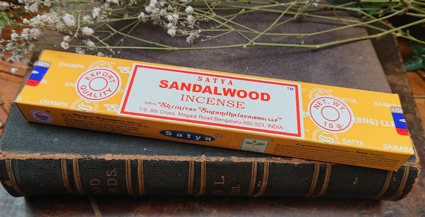 Satya Sandalwood Incense