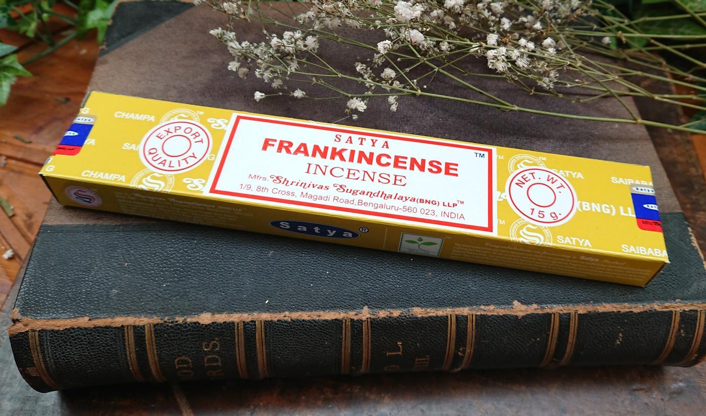 Satya Frankincense incense