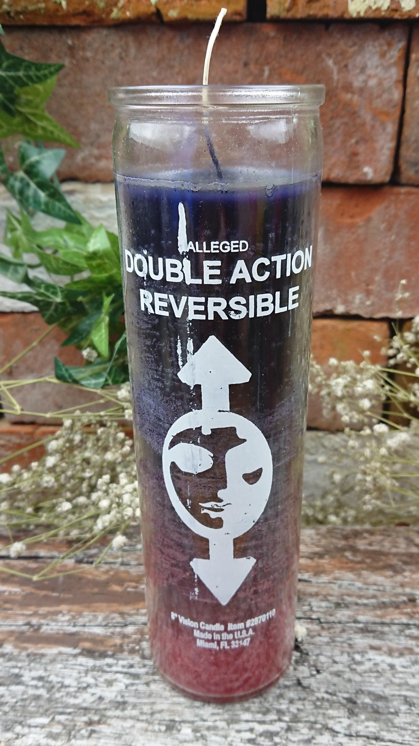 Double Action Reversible Candle