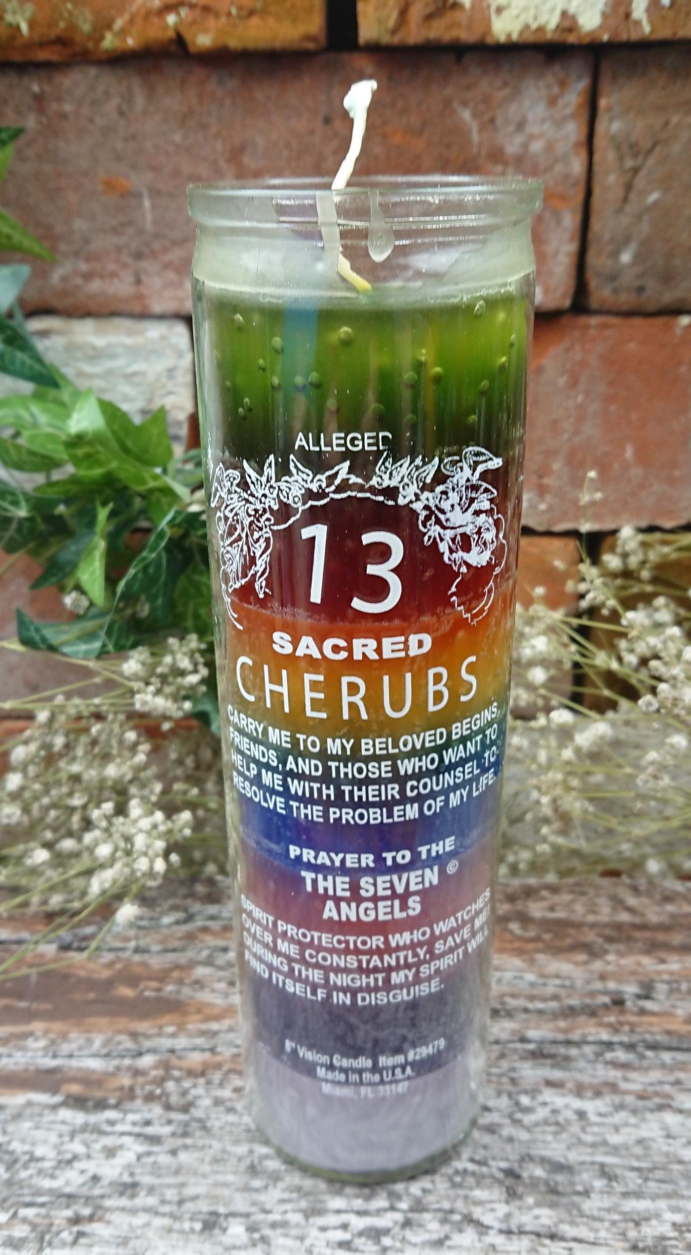 13 Sacred Cherubs Candle