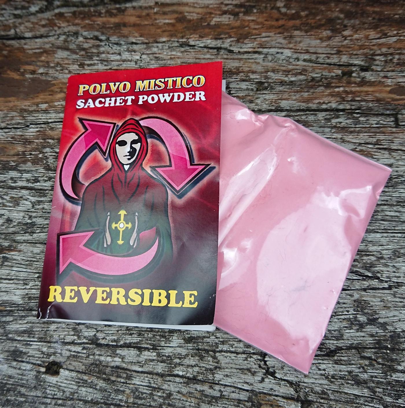 Reversible  Sachet Powder