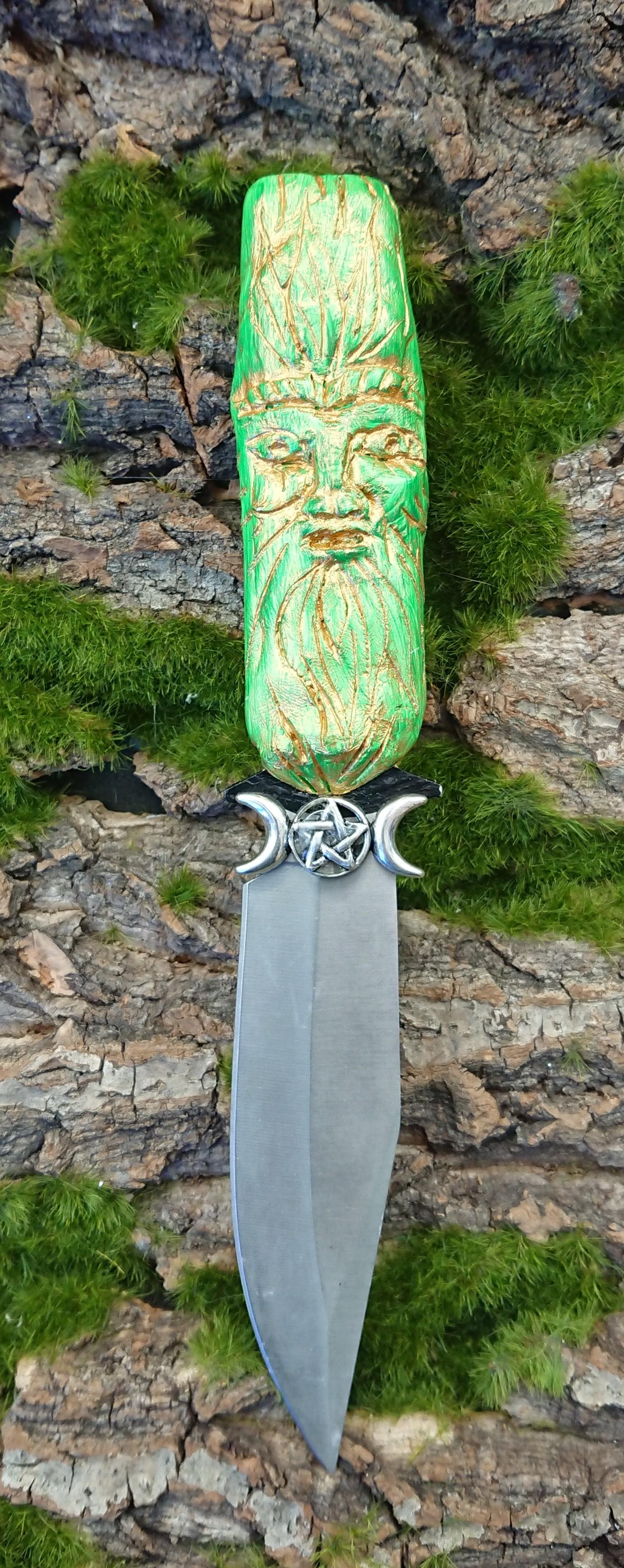 Green man Athame