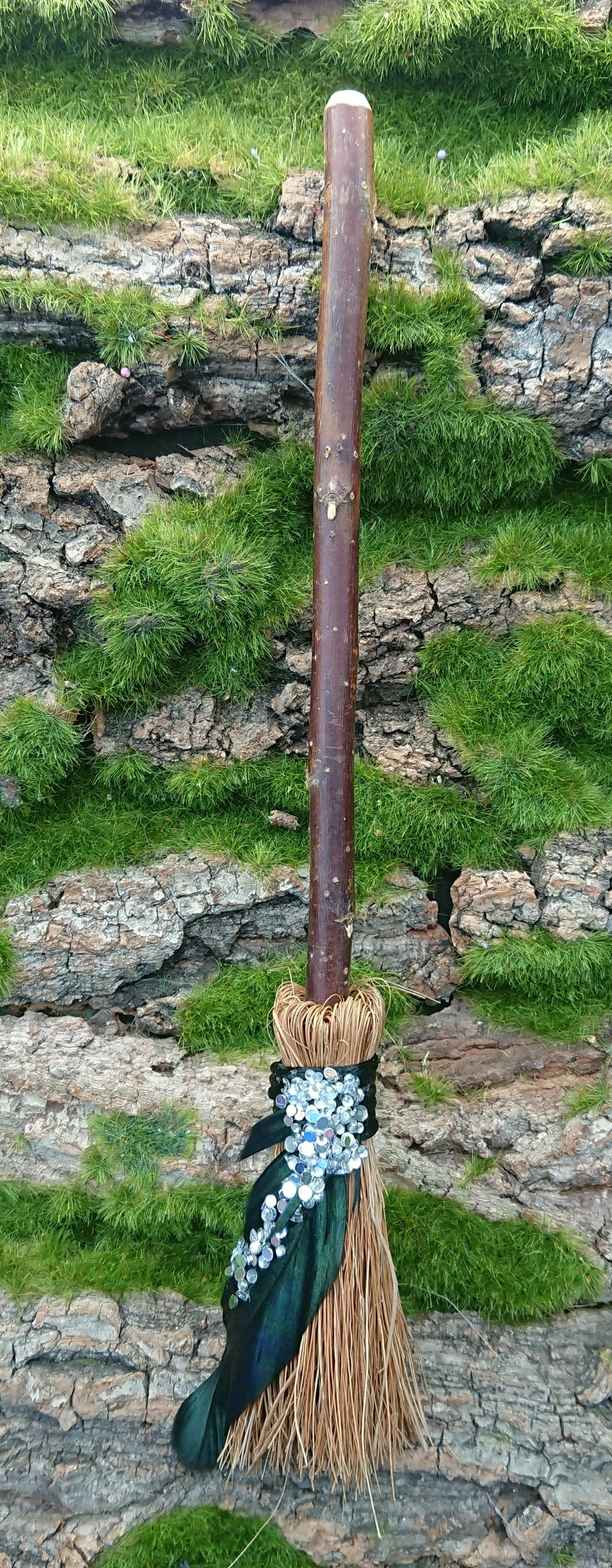 Floral Mini Broom