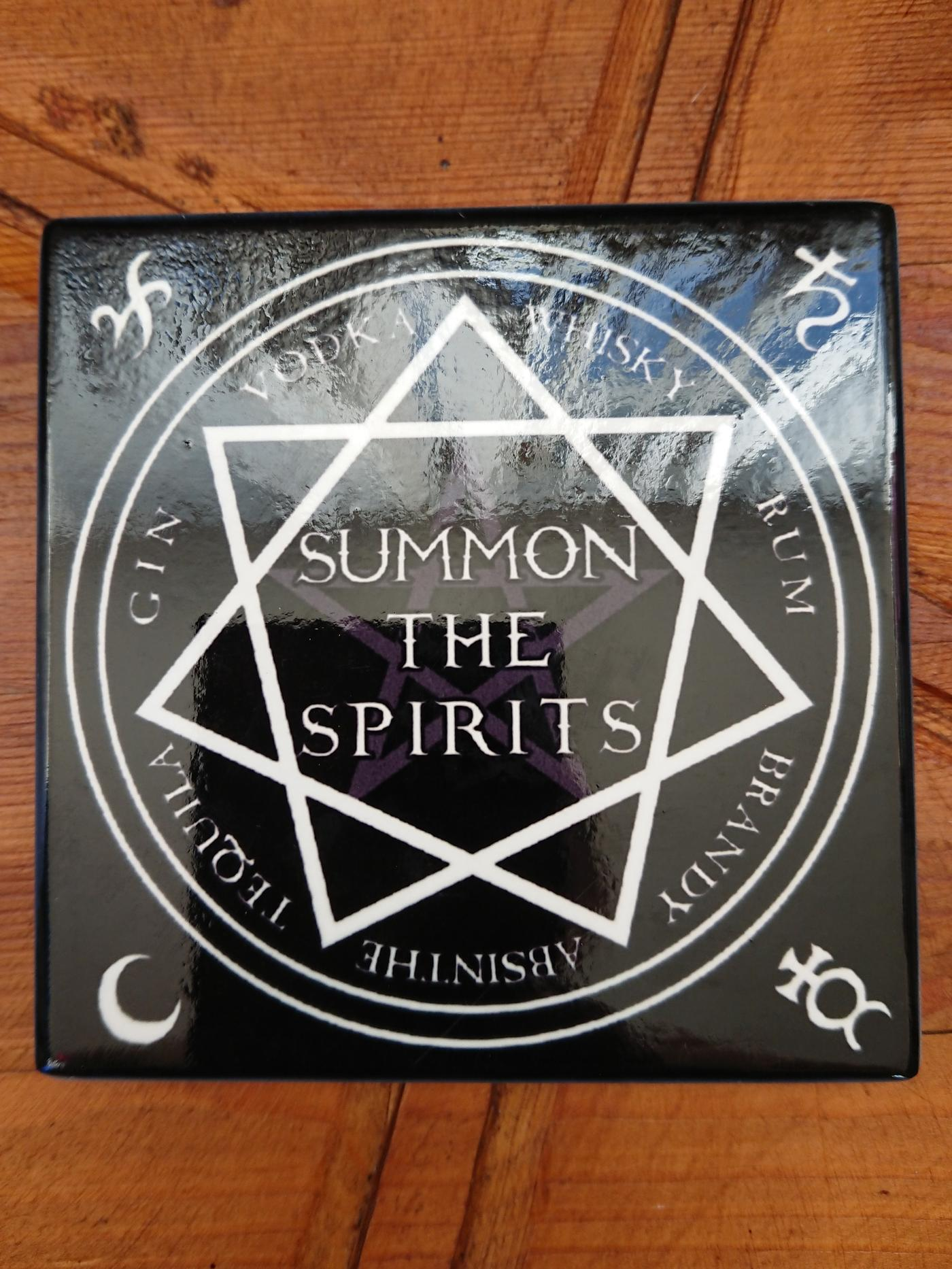 Summon the Spirit Gothic Coaster