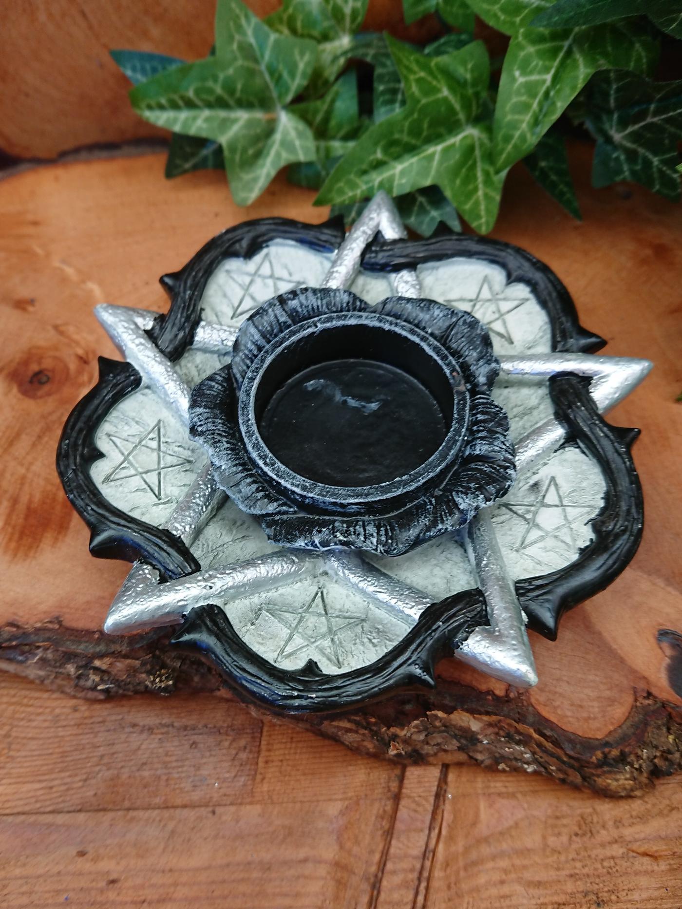 Gothic Rose of Otrolanus Tea Light Holder