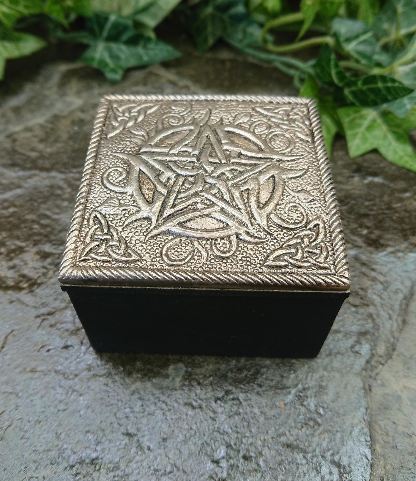 Celtic Pentagram Trinket box