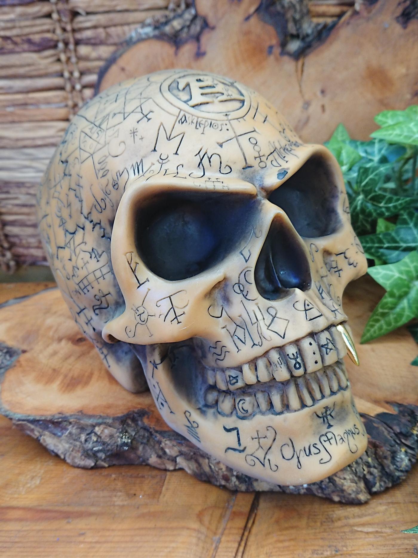 Omega Skull ornament