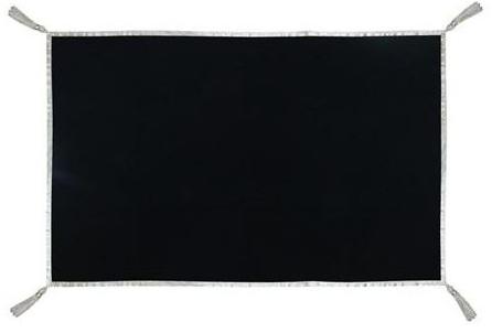 Black velvet Altar cloth / tarot cloth