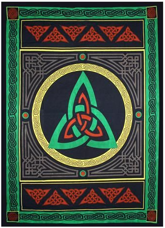 Triquetra Wall hanging Tapestry