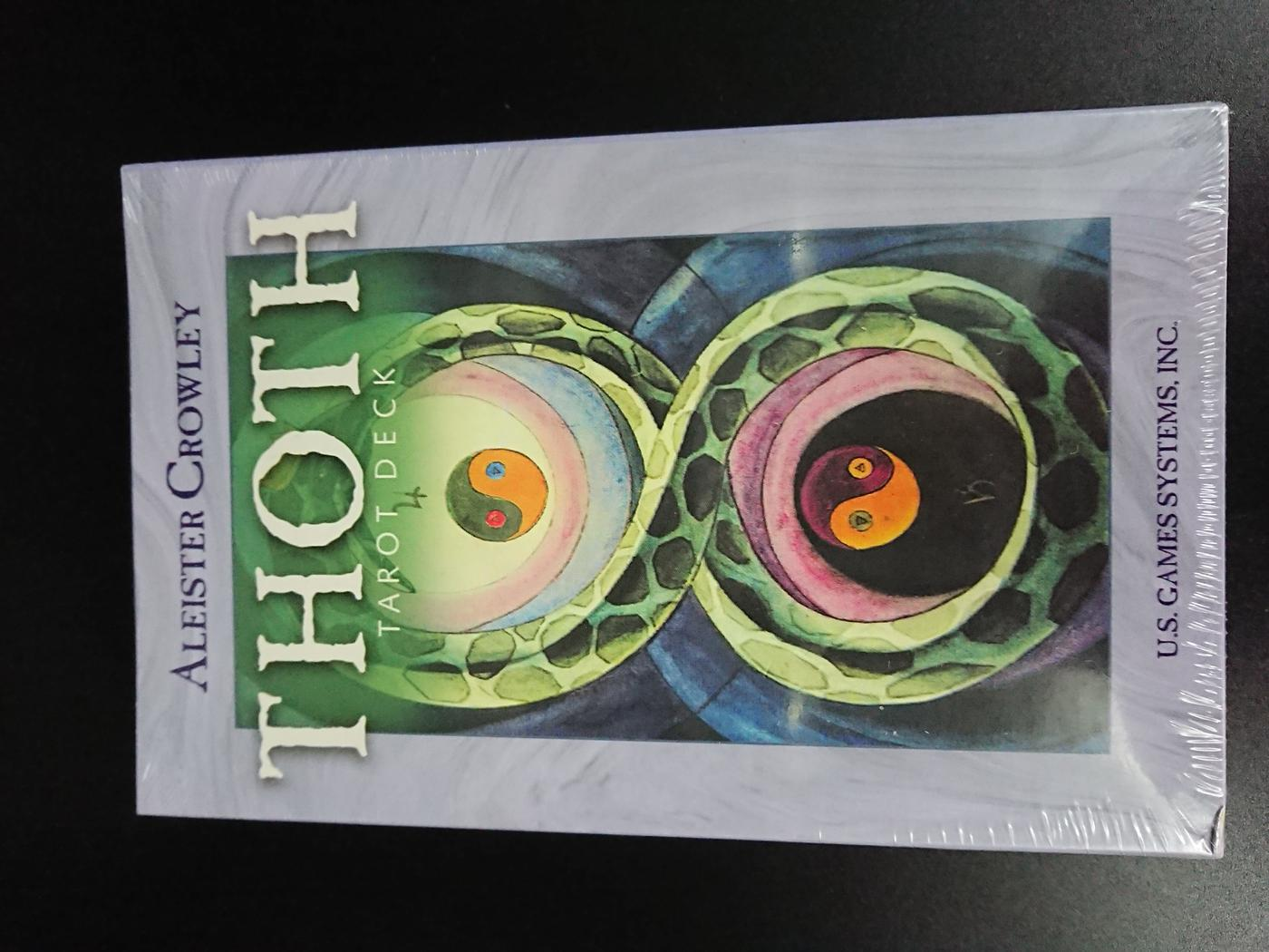 Aleister Crowley Thoth Tarot Delux Set