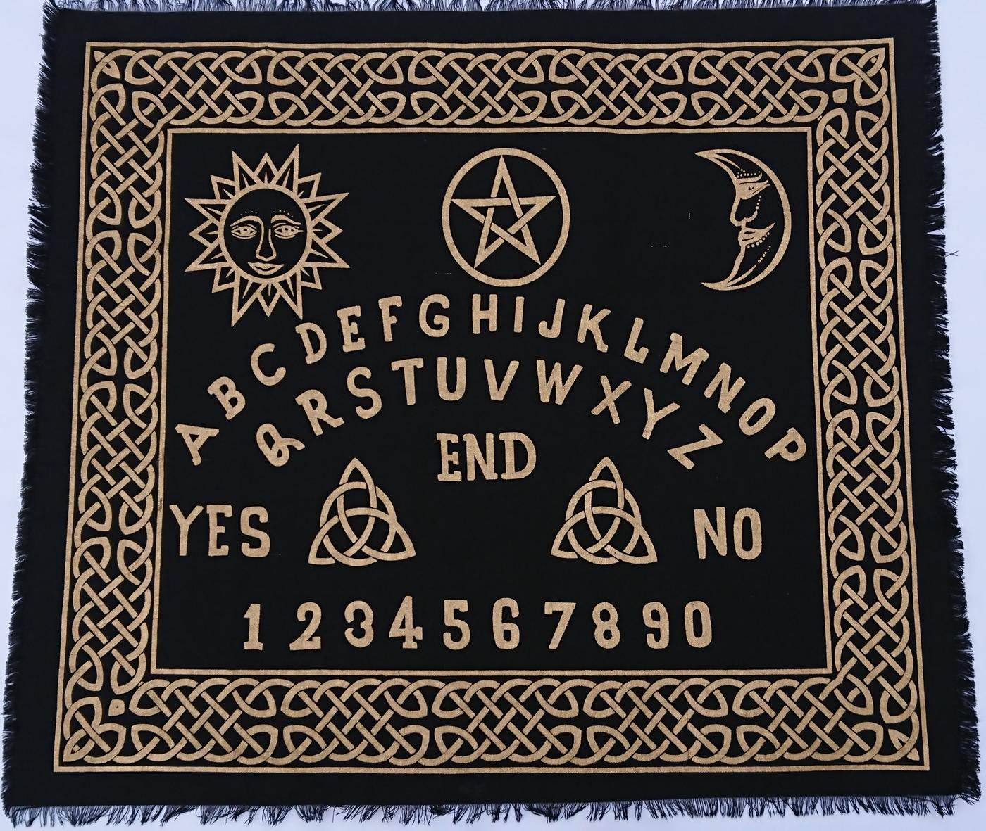 Ouija- Board Altar cloth  24- x 30