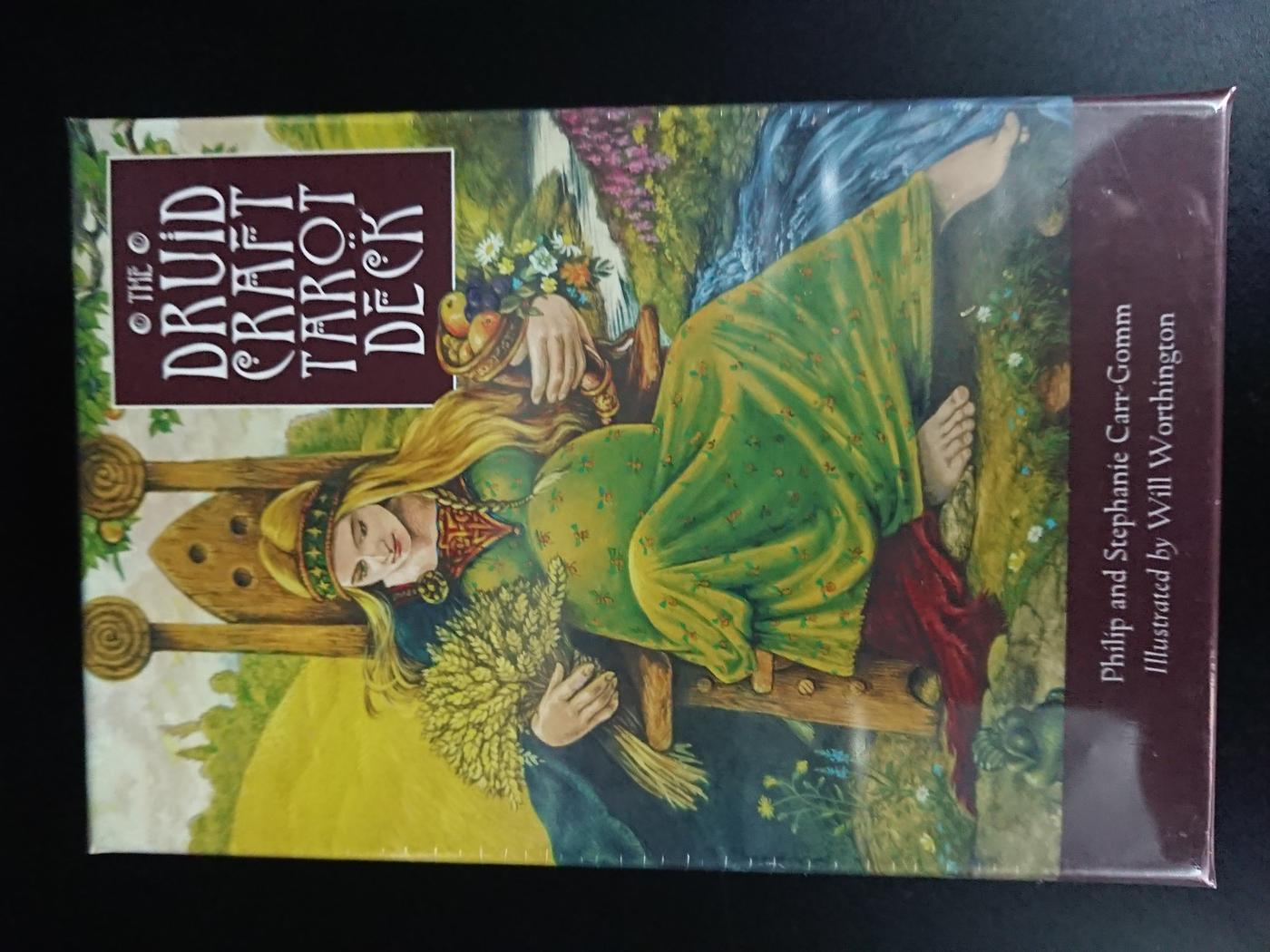 The Druid Craft Tarot deck Boxed Set