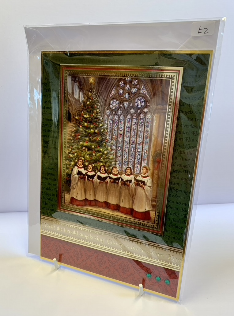 Handmade By Helen Christmas Card