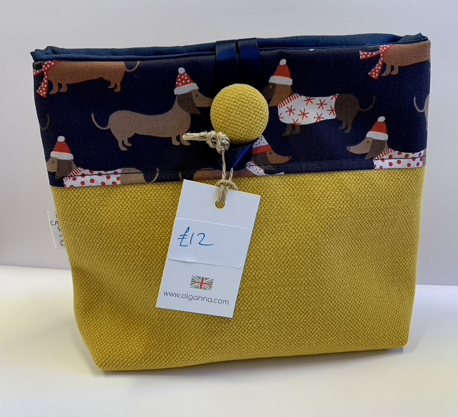 Button Bag By Olganna